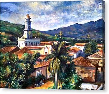 Trinadad Cuba Canvas Print