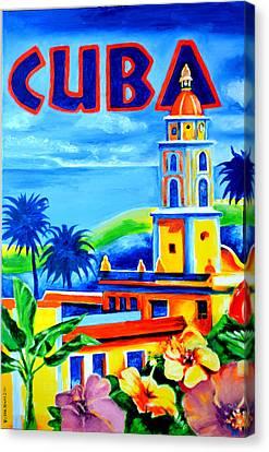 Trinidad Cuba Canvas Print by Victor Minca