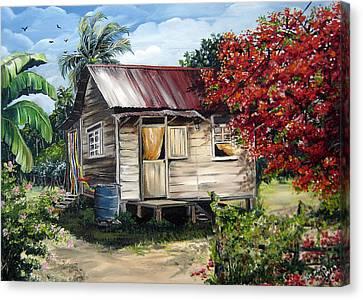 Trinidad Life 1  Canvas Print by Karin  Dawn Kelshall- Best