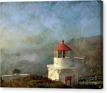 Trinidad Light House Canvas Print by Irina Hays
