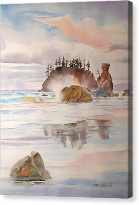 Trinidad Rocks Canvas Print