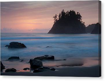 Trinidad Sunset - Another View Canvas Print by Mark Alder