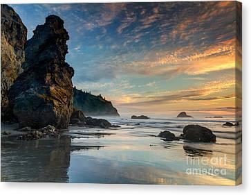 Trinidad Sunset Canvas Print by Randy Wood