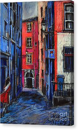 Trinite Square Lyon Canvas Print