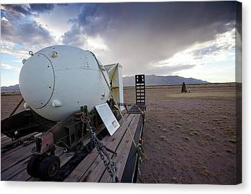 Trinity Atomic Bomb Test Site Canvas Print by Peter Menzel