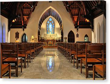 Trinity Episcopal Church Canvas Print by Dan Myers