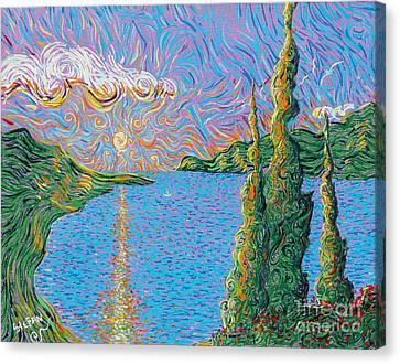 Trinity Lake 2 Canvas Print by Stefan Duncan