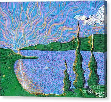 Trinity Lake Series Canvas Print by Stefan Duncan