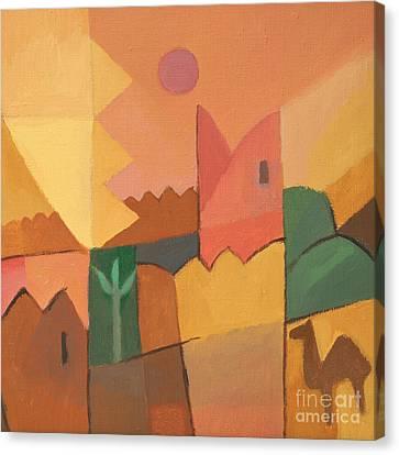 Trip To Tunisia Canvas Print by Lutz Baar