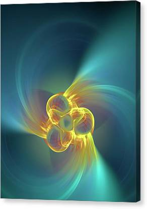 Triple Alpha Nuclear Fusion Canvas Print