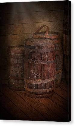 Triple Barrels Canvas Print by Susan Candelario