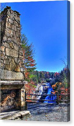 Triple Falls 2 Canvas Print
