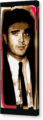 Schmid Canvas Print - Triple Murderer Charles Schmid Not In Makeup Tucson Arizona Collage Circa 1966-2013  by David Lee Guss