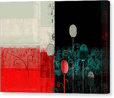 Triploflo - 33at11 Canvas Print by Variance Collections