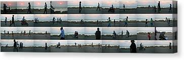 Tripoli Sunset Canvas Print