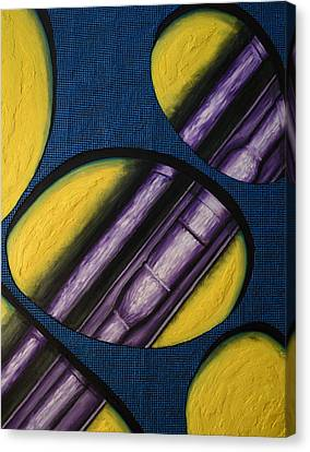 Canvas Print featuring the painting Tripping Pipe by Shawn Marlow
