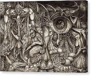 Tripping Through Bogomils Mind Canvas Print