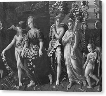 Triumph Of Spring Canvas Print