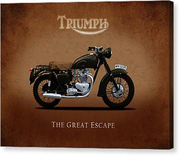 Triumph - The Great Escape Canvas Print