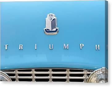 1958 Triumph Tr3 Canvas Print by George Atsametakis