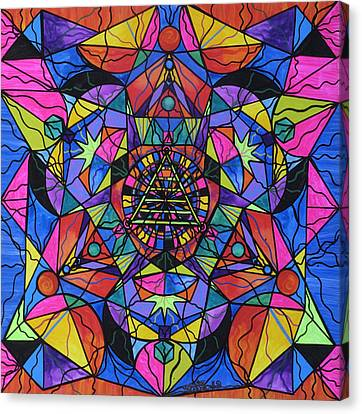 Triune Transformation Canvas Print by Teal Eye  Print Store