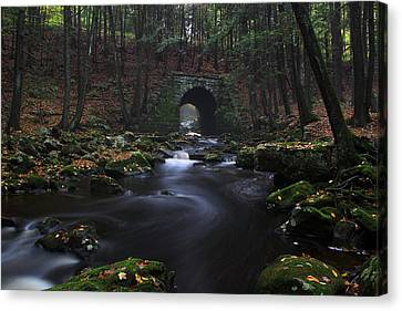 Troll Bridge Canvas Print