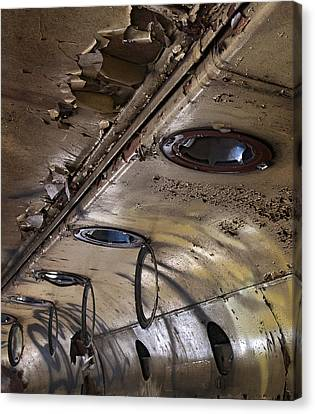 Trolley Ceiling Canvas Print by Murray Bloom