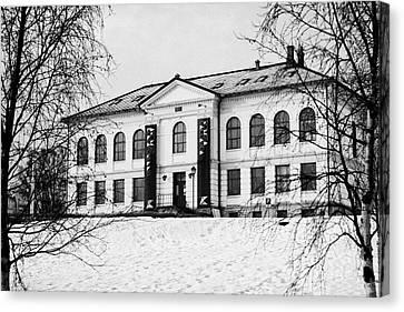Tromso Gallery Of Contemporary Art Troms Norway Europe Canvas Print by Joe Fox