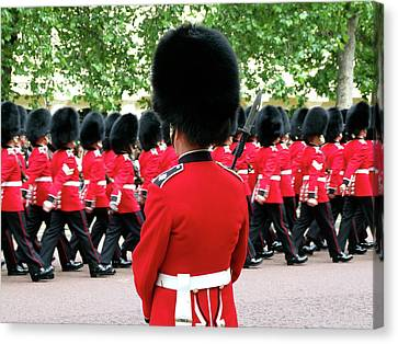 Trooping Of The Colour, London, England Canvas Print