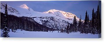 Trophy Mountain British Columbia Canada Canvas Print by Panoramic Images
