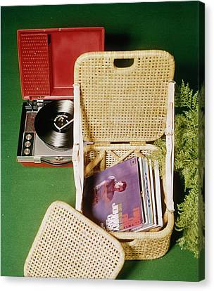 Tropi-cal Beach Chair Canvas Print