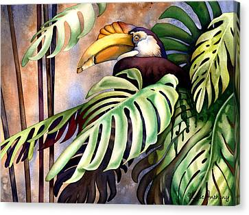 Tropic View Canvas Print by Lyse Anthony