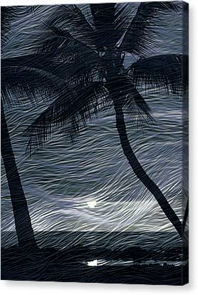 Canvas Print featuring the photograph Tropical Breeze by Athala Carole Bruckner