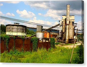 Tropical Distillery Canvas Print by Jon Emery