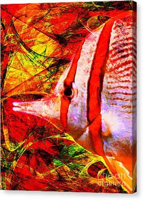 Tropical Fish 5d24879 Canvas Print