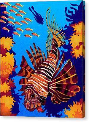 Tropical Fish Canvas Print by Prentice Morris