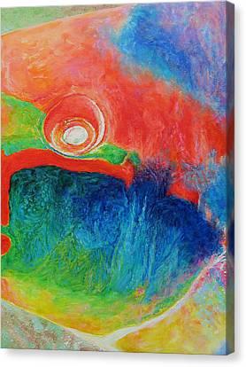 Tropical Fishtych 01 B-center Canvas Print