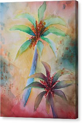 Tropical Image Canvas Print by Karin Eisermann