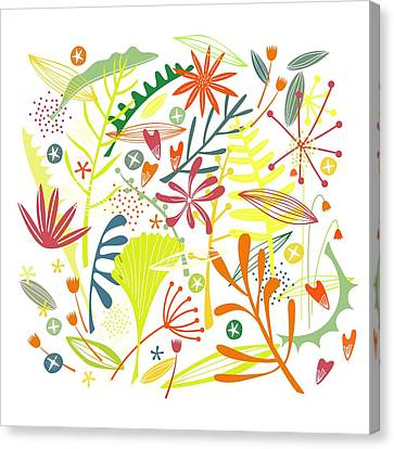 Tropical Canvas Print by Nic Squirrell