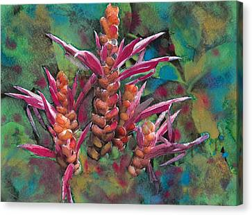 Tropical Plant 3 Canvas Print by Susan Powell