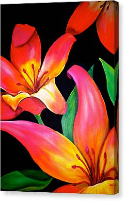 Debi Pople Canvas Print - Tropical Punch by Debi Starr