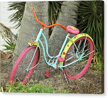 Canvas Print featuring the photograph Tropical Ride by Rosemary Aubut