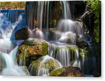 Canvas Print - Tropical Waterfall by Bill Gallagher