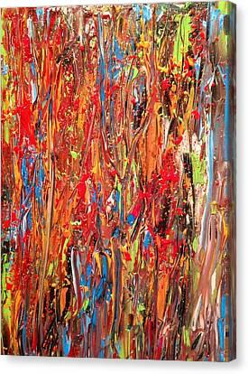 Tropics No. 1 Canvas Print