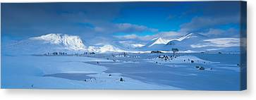 Trossachs National Park Scotland Uk Canvas Print by Panoramic Images