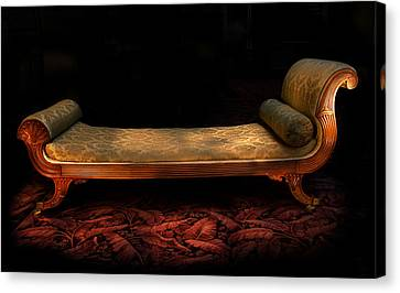 Trotter Sofa Paxton House Canvas Print by Niall McWilliam