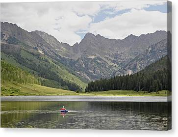 Trout Haven Canvas Print by RJ Martens