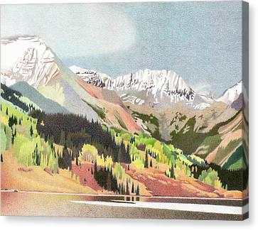 Trout Lake Colorado Canvas Print