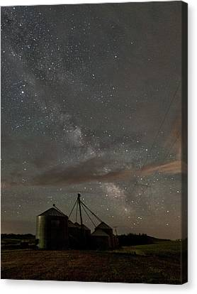 Troy Milky Way Canvas Print by Latah Trail Foundation