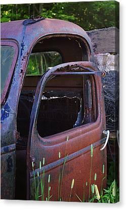 Truck And  Door Canvas Print by Randy Pollard